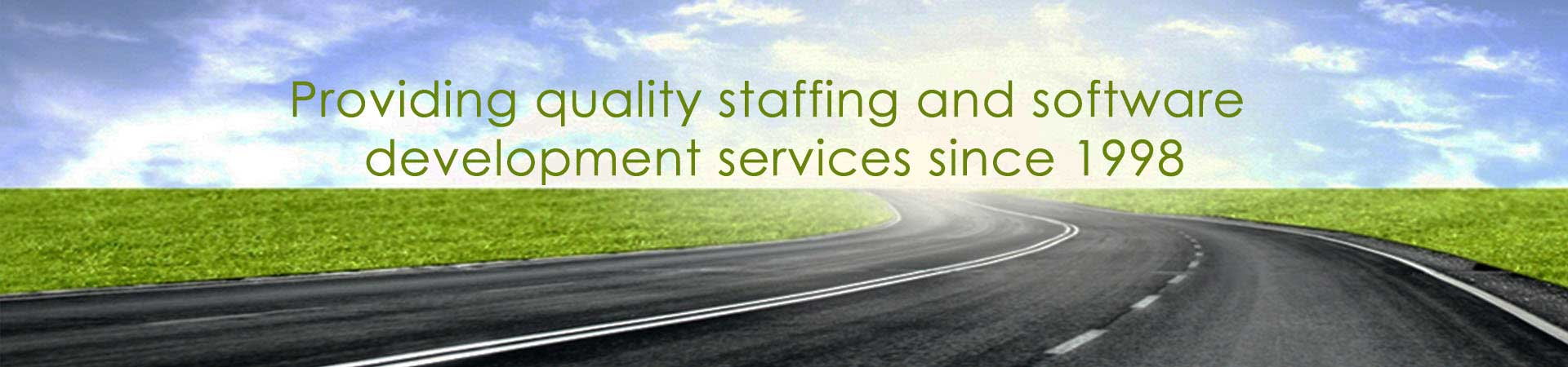 Providing quality staffing and software development service since 1998